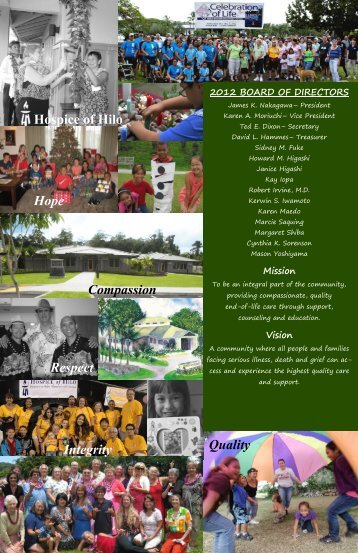 Annual Report - Hospice of Hilo