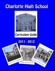 English Course Sequences proposed for 2011-2012