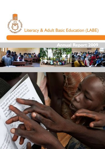 Annual Report 2009 - LITERACY AND ADULT BASIC EDUCATION