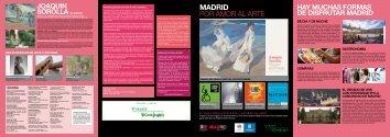 MADRID POR AMOR AL ARTE - Viajes El Corte Inglés