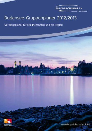 Bodensee-Gruppenplaner 2012/13 - Friedrichshafen