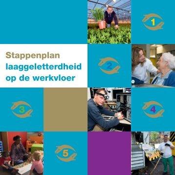 Stappenplan laaggeletterdheid op de werkvloer - Taalwerkt.nl