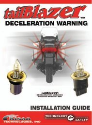 tailBlazer Installation Manual - Spoiled Biker