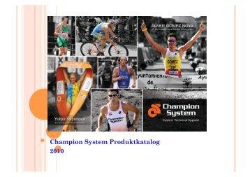 Katalog 2012 Freizeitbekleidung - Champion System