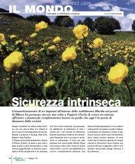 IL MONDO Sicurezza intrinseca - Promedianet.it