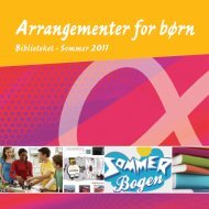 Arrangementer for børn - Kulturfokus