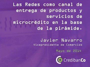 Javier Navarro - Credibanco