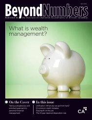 Download April 2012 issue - Institute of Chartered Accountants of BC