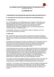 Allgemeine Geschäftsbedingungen (Fassung 2013) (PDF)