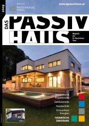 2009 www.igpassivhaus.at - IG Passivhaus Tirol