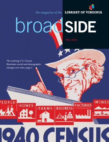 broadSIDE - Library of Virginia - Commonwealth of Virginia