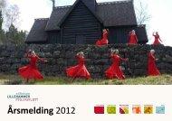 Last ned årsmeldingen for 2012 her - Maihaugen