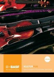 KulturPur - Das neue BASF-Konzertprogramm 2008/2009 liegt