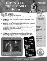 March 30, 2009 - Missouri House of Representatives