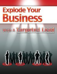 Explode Your Business With A Targeted Lead - The Home Business ...