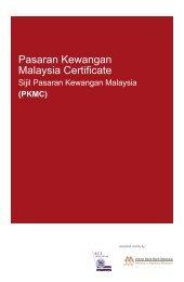 Pasaran Kewangan Malaysia Certificate - Institute of Bankers Malaysia