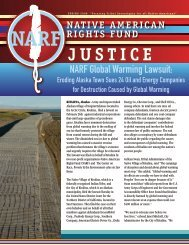 Spring - Native American Rights Fund