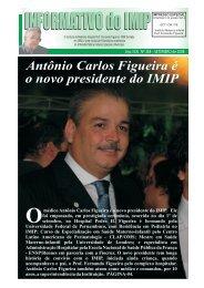 Antônio Carlos Figueira é o novo presidente do IMIP