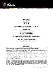 Minutes OMC 20 November 2012.pdf - City of Melville