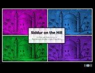 Siddur on the Hill - The Vilna Shul