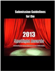 Submission Guidelines for the
