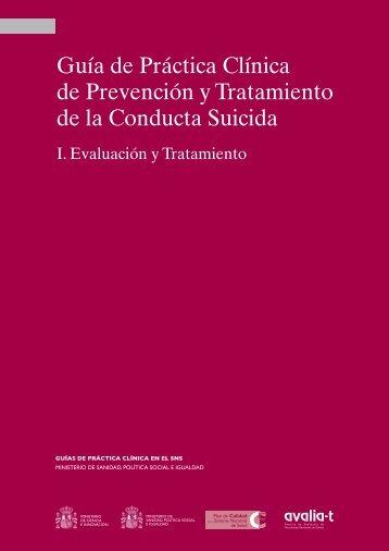 GPC Conducta suicida Vol. 1 - Asociación Española de ...