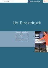 UV-Direktdruck - Behrendt Werbetechnik
