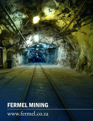 FERMEL MINING - The International Resource Journal