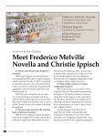 Meet Frederico Melville Novella and Christie Ippisch - Society of ... - Page 2