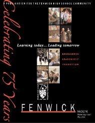 Fall 2004 - Fenwick High School