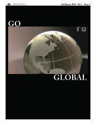 GLOBAL GO - American Public University System