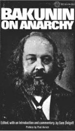 Bakunin on Anarchy (1971)