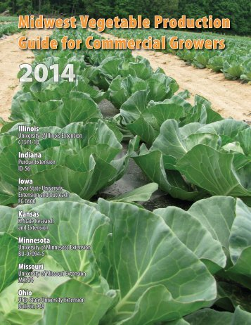 Midwest Vegetable Production Guide - Purdue University Botany ...