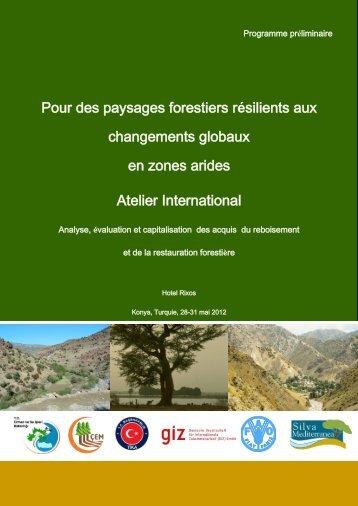 Pour des paysages forestiers résilients aux changements globaux ...