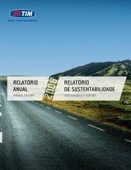 relatório anual relatório de sustentabilidade
