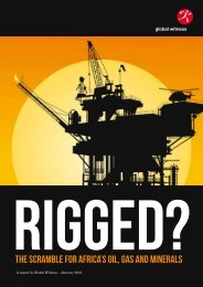 RIGGED The Scramble for Africa's oil, gas and minerals