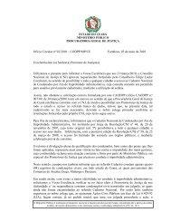Ofício Circular Nº 002/2010 - Ministério Público do Estado do Ceará ...