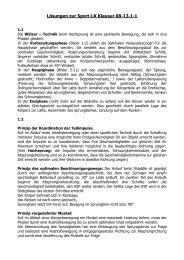 Lösungen zur Sport-LK Klausur 08-13.1-1