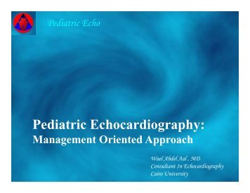 Pediatric Echo