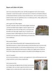 Bauen und Leben mit Lehm - Gruenvoll.de