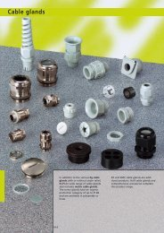 Cable glands - Mera ZB