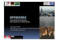 Open Sense Zurich 1 - Sensaris