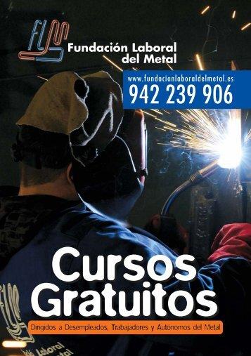 Folleto Cursos 2008/2009 #2AF14 - Fundación Laboral del Metal