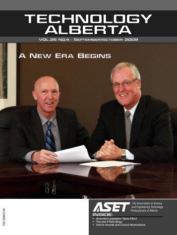 A New Era Begins - ASET
