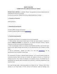 """BASES CONCURSO """" CONECTATE CON LA MEJOR ... - Bticino"""