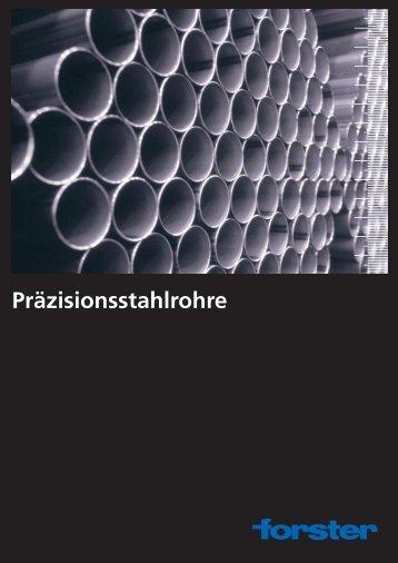 Broschüre Forster Präzisionsstahlrohre - Forster Rohr