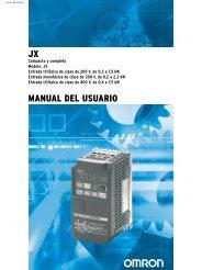 JX MANUAL DEL USUARIO - Carol Automatismos Igualada SA