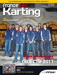 OBJECTIF 2011 - FFSA