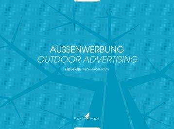AussENWERBuNg outdoor Advertising - Flughafen Stuttgart