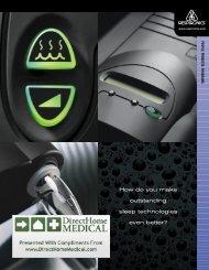 REMstar Pro/Plus CPAP Brochure (PDF) - Direct Home Medical